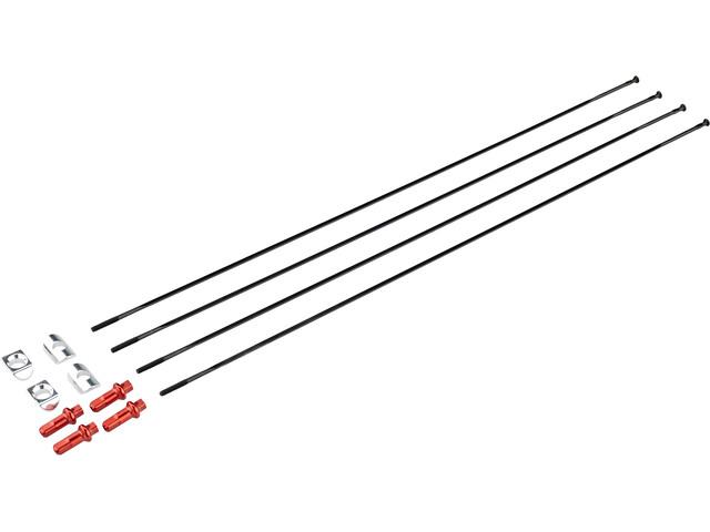 Fulcrum Spakenset Achterwiel Rechts 4 Stuks voor Racing Quattro LG Clincher